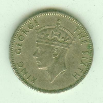 Seychelels 1951 25 Cents-Lot Y