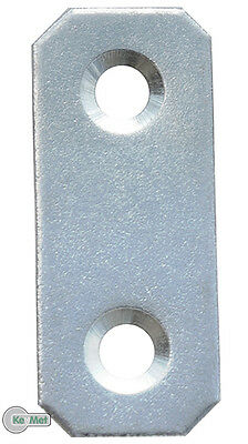 100 Flat Connector Timber Connectors 40 x 16 x 1,5 mm Connecting plates