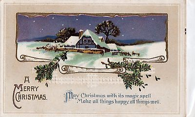 Early 1900's -  Christmas Greetings - Postcard - Selling Lot Of Cards