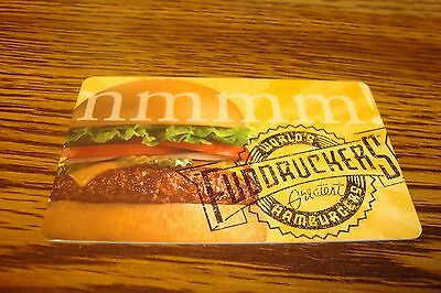 FUDDRUCKERS Hamburgers GIFT CARD NO VALUE Used Collectable