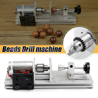 Mini Pearl Beads Wood Drilling Tool Holing Machine Jewelry Punch Drill 10-25mm