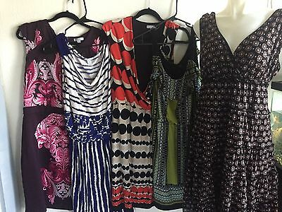 Career Fashion Fun Dress Lot Of 5 Women's Size Large