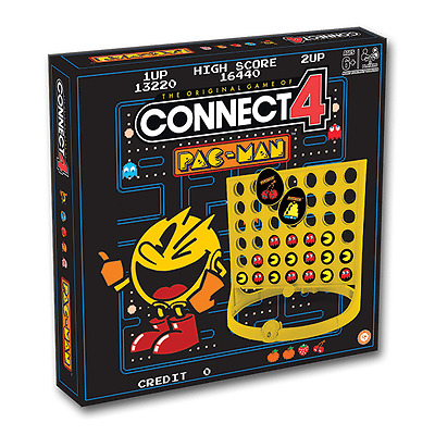 Brand New  Connect 4: Pac-Man Connect Four- 001995 Games