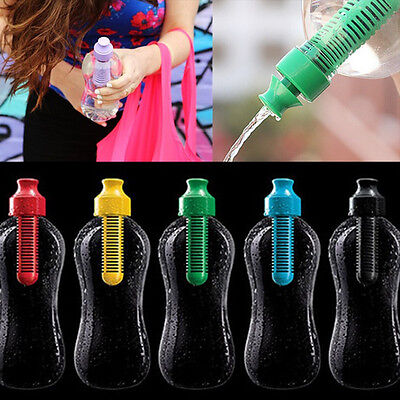 550ml Outdoor Water Hydration Filter Bottle Filtered Drinking Sports Bobble New