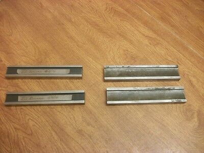 2 Sets of Parallels Made by A Toolmaker L@@K No Reserve Machinist Die Maker's...