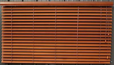 Timber Venetian Blinds x 11, Varying Sizes