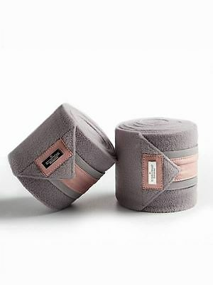 Equestrian Stockholm Stylish Outdoor Pack of Four Soft Horse Fleece Bandages