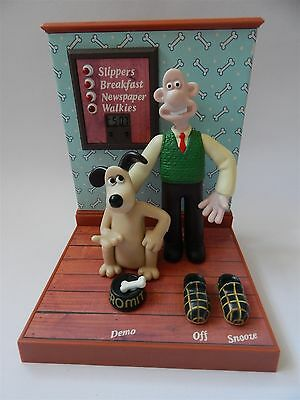Wallace And Gromit Talking Alarm Clock, Wesco/bbc Aardman Animations