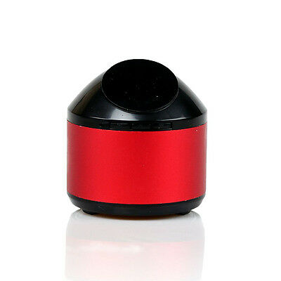 Bluetooth Wireless Speaker Mini Pocket Size Smartphone Tablet PC SD TF Card Red