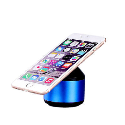 Bluetooth Wireless Speaker Mini Pocket Size Smartphone Tablet PC SD TF Card Blue