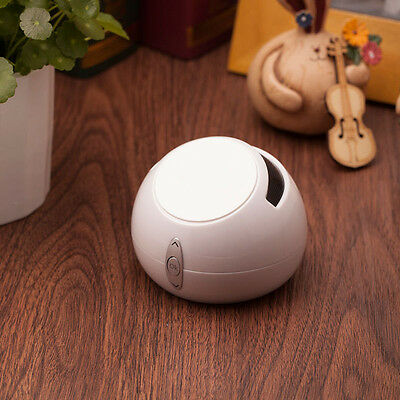 Anti Gravity Bluetooth Wireless Speaker Mini Size For Smartphone Tablet P White