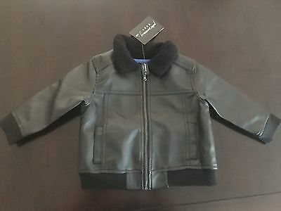 PETER MORRISSEY baby aviator jacket. Size 0. RRP $35.00. NEW with tags.