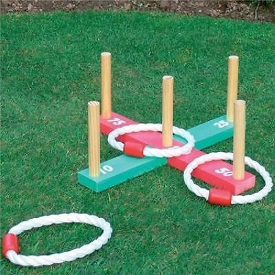 Kingfisher Garden Quoits Rope Hoopla Outdoor Game Kids Adult Family Fun