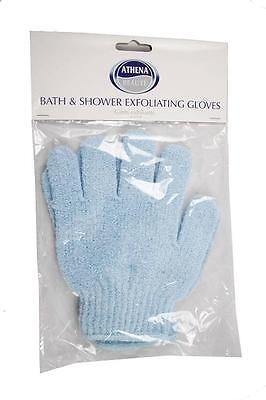 ** Bath & Shower Exfoliating Gloves Body Scrub ** New
