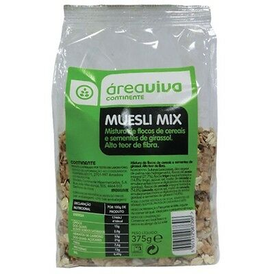 Diet Snack Food Natural & Organic Muesli Cereal Mix - 375gr by Área Viva