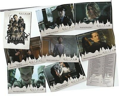 Gotham Season 2 (Two) - 72 Card Basic/Base Set - Cryptozoic