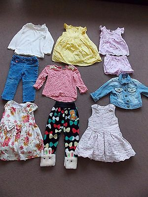Bundles of Girls clothes 9-18 months very nice