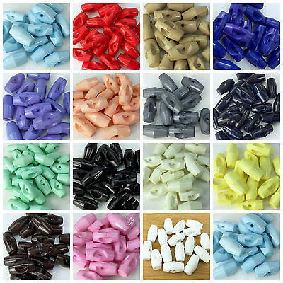 Toggle Buttons 19mm 15 Colours To Choose From Sold Per 5 Great For Coats
