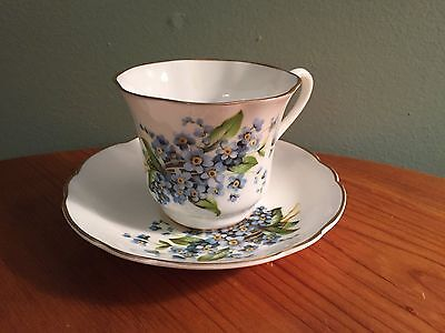 Marlborough Made in England Bone China Cup and Saucer