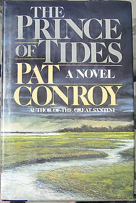 THE PRINCE OF TIDES--PAT CONROY--SIGNED--1st EDITION--HARDCOVER WITH DUST JACKET