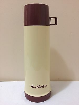 Tim Horton's 30 oz Thermos Thermos Brand Clean Very Good Used Condition