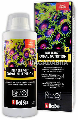 Red Sea Reef Energy B 1L Amino Acids Concentrated Marine Coral Aquarium Tank