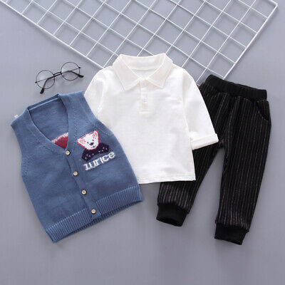 DIIMUU Baby Toddler Boy Boys Party Suit Clothes Clothing Costomes Outfits Sets