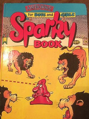 Sparky Annual 1977 Fair Condition Check Out All Other Annuals For Sale