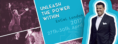 UPW London Tickets Tony Robbins Live at London Excel‎ Unleash The Power Within