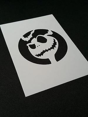 """Nightmare Before Christmas Airbrush Reusable Stencil Paint 11x8.5/"""" FREE SHIPPING"""