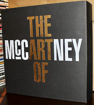 The Art of McCartney - Super Deluxe Box Set APDELU1402 - ARCTIC POPPY 4CD 4LP DV