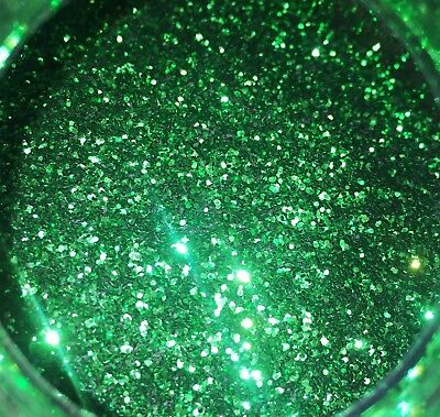 1lb Blakes Metal Flake .015 Lime Green bright Hot Rod Custom Automotive