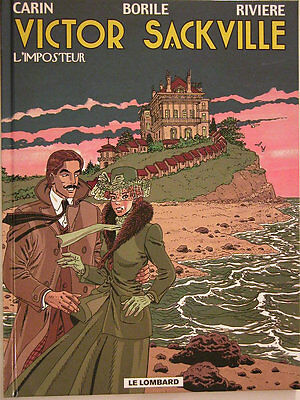 Victor Sackville ** Tome 9 L Imposteur  **  Neuf Carin/riviere
