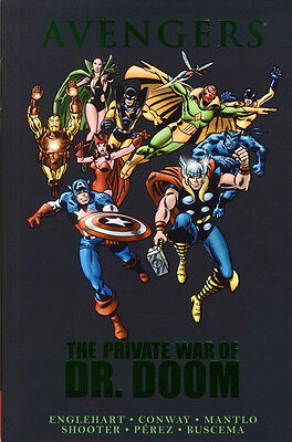 AVENGERS The Private War of Dr. Doom HC Hardcover *Sealed/NM*