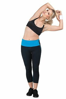 *SALE* Delfin Mineral Infused Capris - Energize your muscles! (Yoga; Pilates)