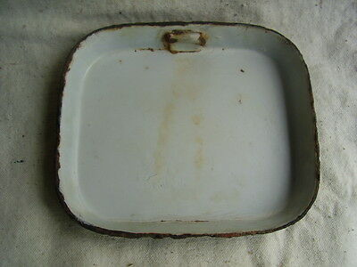 WWI Austro-Hungarian enamelled mess kit M1912 Lid Original
