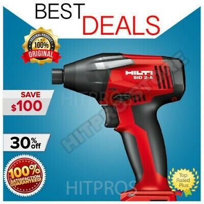 Hilti Sid 2-A Impact Driver, New Model, 2 Batteries, Lightweight, Fast Ship