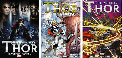 MIGHTY THOR By Matt Fraction Vol 1, 2, 3 (2011 #1-17) HC Hardcover *Sealed/NM*