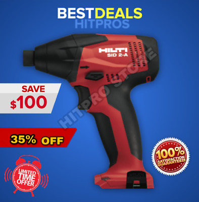Hilti Sid 2-A Impact Driver, New, 1 Battery Included, Fast Ship