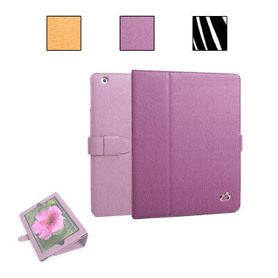 KroO Portfolio Cover Case w/ Pocket & Card Slots for Apple iPad (2, 3, 4)