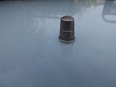 Charles Horner Silver Thimble /Chester 1913