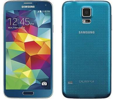 Samsung Galaxy S5 G900A -16GB- Blue (AT&T) Used Android Smartphone