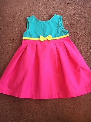 mothercare Summer Dress Age 6-9 Months Pink