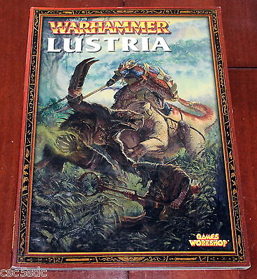 Warhammer Fantasy Battles Realms Book Lustria 2004 Games Workshop Lizardmen