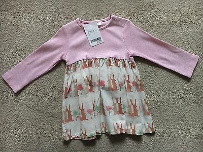Next Bunny Rabbit Dress BNWT 6-9 Months Baby Girl