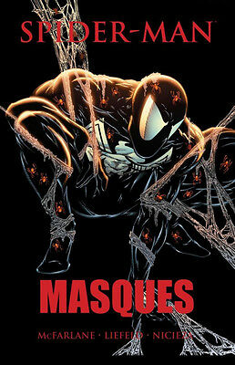SPIDER-MAN MASQUES HC Hardcover Todd McFarlane *Sealed/NM*