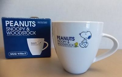 "NEW-Exclusive Promo  Japan-""PEANUTS-SNOOPY & Woodstock""-Ceramic Mug Cup"