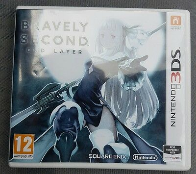Bravely Second End Layer game for Nintendo 3DS PAL