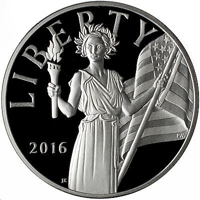 2016-W American Liberty Proof Silver Medal With OGP/COA