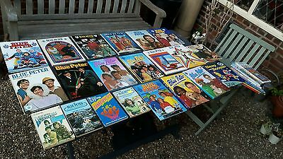 Nice collection of old blue peter and bleep and booster annuals and paperbacks